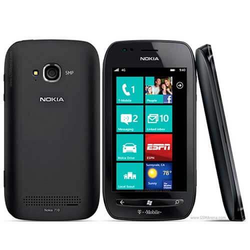 Nokia Lumia 710 Mobile Service