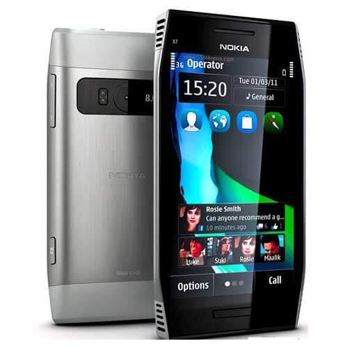 Nokia X7-00 Mobile Service